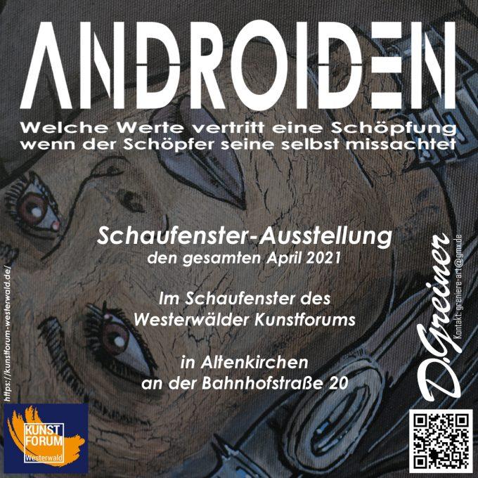 2021_Androiden_Schaufenster_Werbung